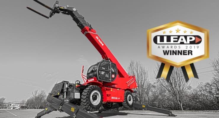 Magni RTH 13.26 SH won LLEAP Award as best Material Handlers