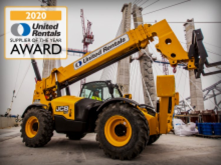 United Rentals Names JCB Supplier of the Year for Consecutive Years